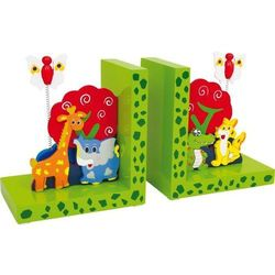 Podpórka na książki dla dzieci Dzikie zwierzęta