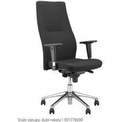 Fotel biurowy Orlando HB R16H steel 28 chrome Nowy Styl, 721