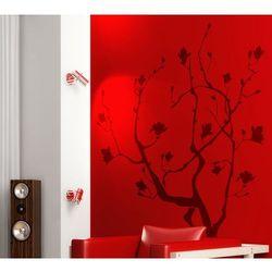 Flora 144 - wiosenne drzewko pomyślności - szablon do malowania marki Szabloneria