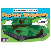 Kolorowanki dla chłopców Pojazdy wojskowe -