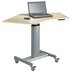 Biurko z napędem elektrycznym brzoza laminat marki Aj