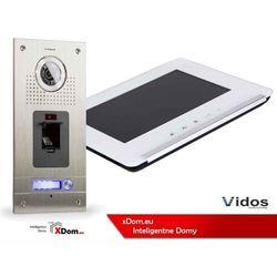 Zestaw wideodomofonu cyfrowego z czytnikiem linii papilarnych Vidos DUO S561Z_M690W