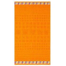ręcznik kąpielowy mozaik pomarańczowy, 70 x 130 cm, 70 x 130 cm marki Night in colours