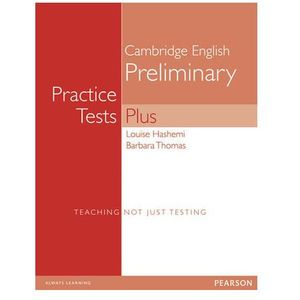 PET Practice Tests Plus 1 Student's Book (podręcznik) without key, Louise Hasemi, Barbara Thomas