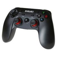 Gamepad Evolveo Fighter F1 pro PC, PS3, Android, Android box (GFR-F1) Czarny