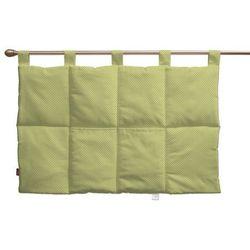 Dekoria Wezgłowie na szelkach, zielona w kropeczki, 90 x 67 cm, Ashley