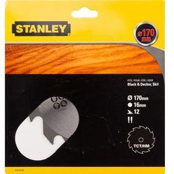 Stanley tarcza pilarska, 170x16 mm, 12 zębów ze sklepu Mall.pl