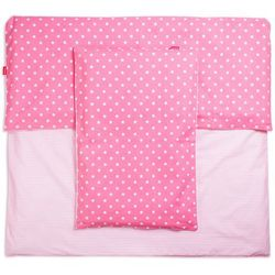 BeeMy Pościel do łóżeczka PINK STARS / PIGGY, kup u jednego z partnerów