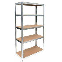 Regał metalowy, magazynowy, G9040, garażowy, 175 kg (5902838468678)