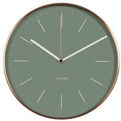 Karlsson :: zegar ścienny minimal jungle green