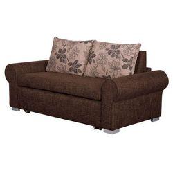 Balina sofa dwuosobowa 140 cm - brązowy marki Meble tapicerowane