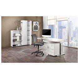 Unbekannt Multi - zestaw mebli do biura,1 stół, 1 regał, 1 kontener na kółkach, 1 szafa na akta z obrotow
