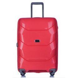 PUCCINI walizka duża z kolekcji MIAMI PP011 twarda 4 koła materiał Polipropylen zamek szyfrowy z systemem T