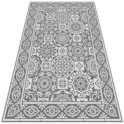 Modny uniwersalny dywan winylowy Modny uniwersalny dywan winylowy Grecka geometria