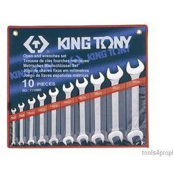 King tony Zestaw kluczy płaskich 10cz. 6 - 28mm 1110mr (4710591932951)