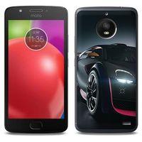 Foto Case - Motorola Moto E4 - etui na telefon Foto Case - black car, ETMT550FOTOFT030000