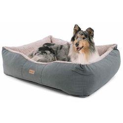 emma, legowisko/kosz dla psa, możliwość prania, antypoślizgowe, oddychające, materac dwustronny, poduszka, rozmiar l (100 x 30 x 90 cm) marki Brunolie