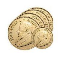 5 Złotych Krugerrandów - 1 Sztuka Po Cenie Spot - Pakiet Inwestora - Darmowa Dostawa