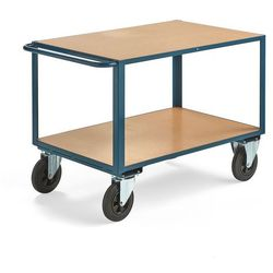 Aj produkty Wózek warsztatowy, bez hamulców, 2 koła skrętne, 600 kg, 1100x700 mm