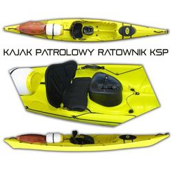 Kajak patrolowy KSP - szczegóły w Sklep Ratownik24.pl