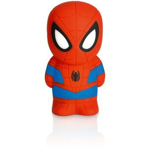 DISNEY - Lampka nocna na baterie Softpal LED Spiderman 12,5cm, 717684016