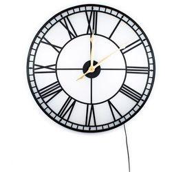 :: zegar ścienny factory led Ø80cm marki Kare design