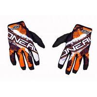 Rękawice do KTM O'neal Jump Shocker Pomarańczowe