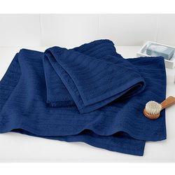 Ręczniki z tkaniny frotté, 2 sztuki, granatowe, kup u jednego z partnerów
