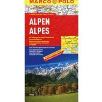 Alpy mapa samochodowa 1:800 000, DAUNPOL