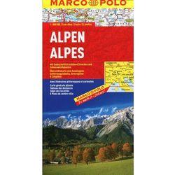 Alpy mapa samochodowa 1:800 000