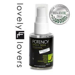 Potency spray 50ml - wzmacnia erekcję wyprodukowany przez Lovelylovers