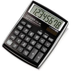 Kalkulator Citizen CDC-80BK BLACK Darmowy odbiór w 20 miastach! (4562195133087)