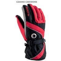 Viking Męskie rękawice narciarskie  trick czarno-czerwony 7