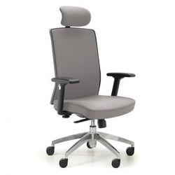 Krzesło biurowe Alta F, szare