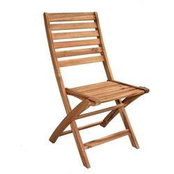 krzesło składane bruno 2 szt. marki Rojaplast