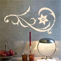 Wally - piękno dekoracji Szablon malarski ornament dekoracja 2222