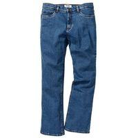 Dżinsy ze stretchem classic fit bootcut  niebieski, Bonprix