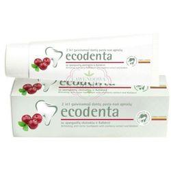 Odświeżająca pasta do zębów chroniąca od nalotu z żurawiną i Kalident - Ecodenta, kup u jednego z part