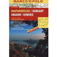 Węgry atlas 1:300 000 Marco Polo (ISBN 9783829737128)