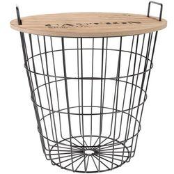 Home styling collection Wielofunkcyjny koszyk do przechowywania - siedzisko, 2w1 (8718158622266)