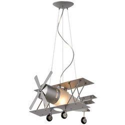 Lucide 77468/01/36 - lampa wisząca dziecięca focker 1xe27/40w/230v (5411212770370)