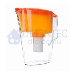 Dzbanek filtrujący standard, pomarańczowy + wkład aquaphor b100-15 standard marki Aquaphor