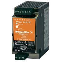Zasilacz na szynę DIN Weidmueller CP T SNT 140W 12V 12A 12 V/DC 12 A 140 W 1 x