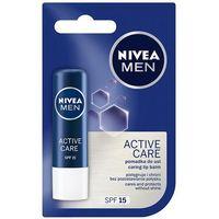 men pielęgnacyjna pomadka ochronna dla mężczyzn, active care marki Nivea