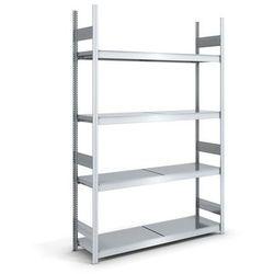 Regał wtykowy o dużej pojemności z półkami stalowymi,wys. 2500 mm, szer. półki 1500 mm