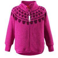 Bluza Polarowa Reima knit fleece Ornament różowa z wzorem - sprawdź w wybranym sklepie