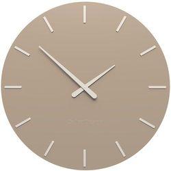 Zegar ścienny Smarty Line CalleaDesign caffelatte, kolor brązowy