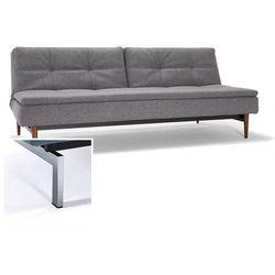 sofa dublexo szara 563 nogi chromowane - 741050563-741010-0-2 wyprodukowany przez Innovation istyle