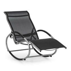 Blumfeldt santorini fotel bujany leżak czarny (4260509684156)