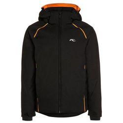 Kjus FORMULA Kurtka narciarska black/vibrant orange - produkt dostępny w Zalando.pl